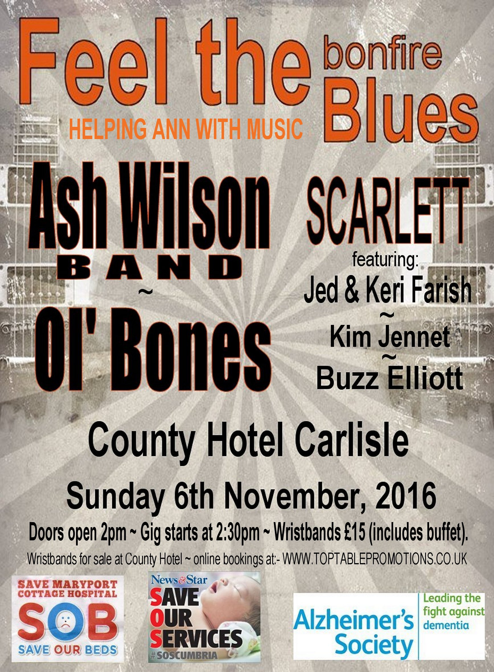 Feel The Bonfire Blues all day live music session