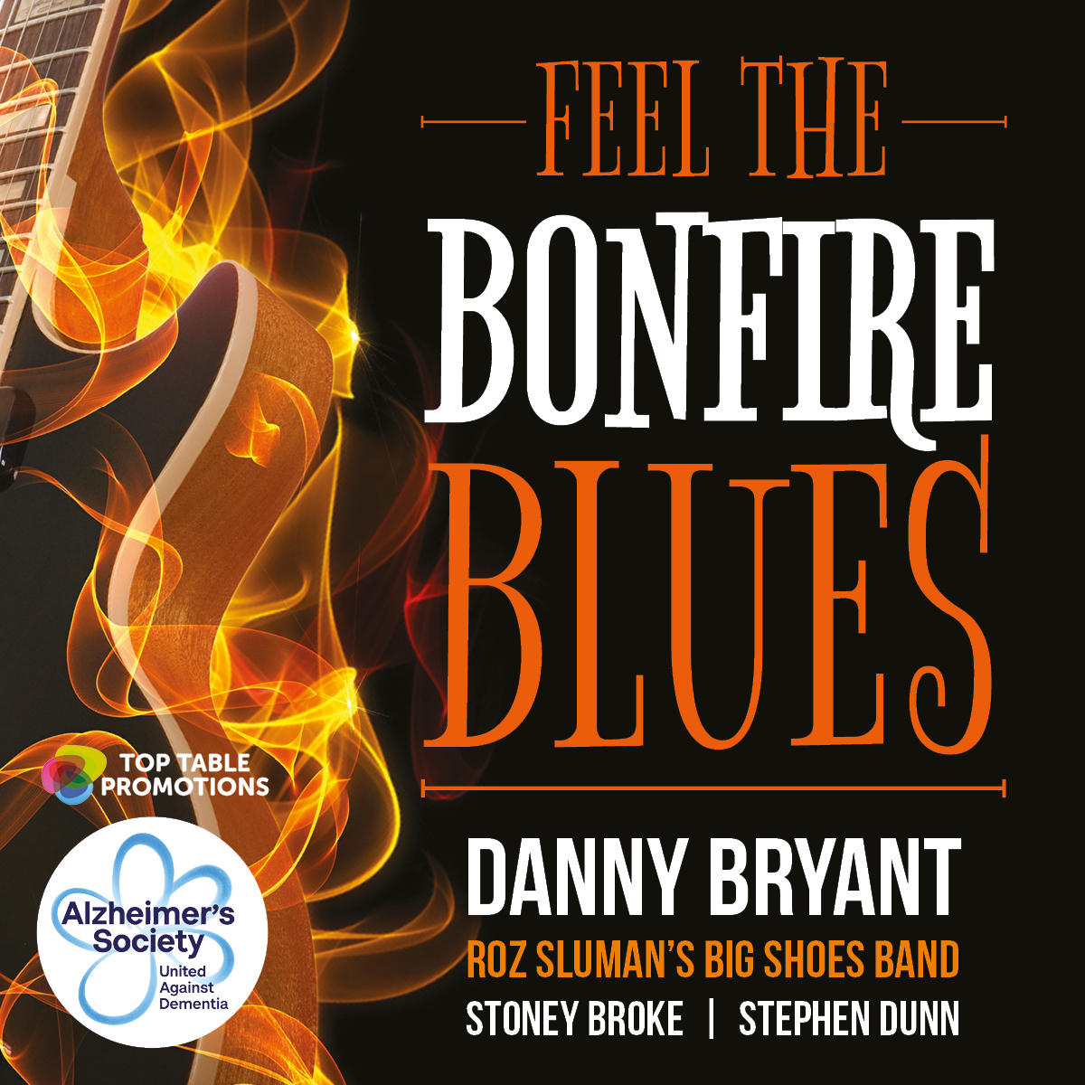 Feel The Bonfire Blues with Danny Bryant