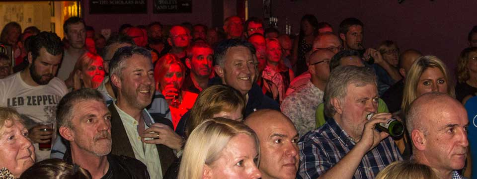 Audience at the kirkgate cockermouth